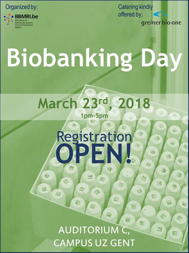Biobank Day 23/03:  Final program available