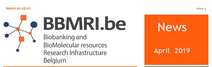 Third newsletter BBMRI.be